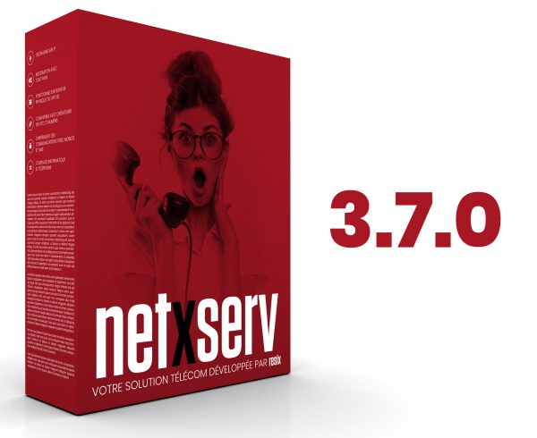NetXServ 3.7.0 : nouvelle version disponible en juin 2018