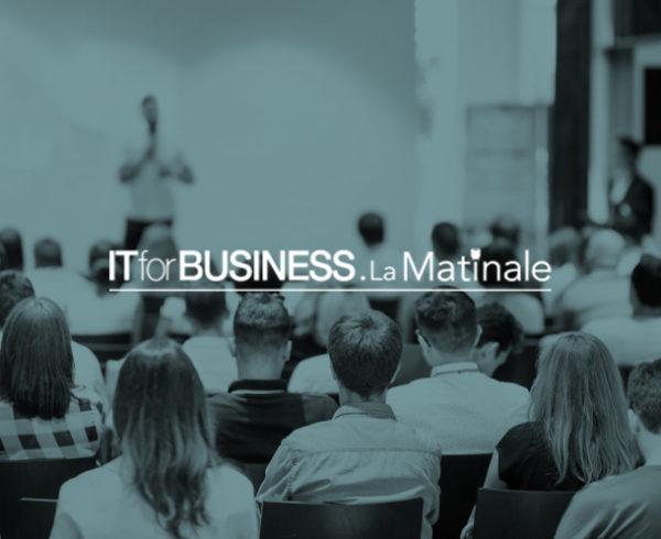 Resix sera présent à la Matinale ITforBusiness du 16 novembre